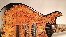 """Blueberry New Handmade Top-carved Electric Guitar """"Fierro"""" w/ Seymour Duncan set"""