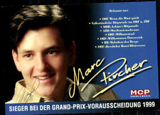 Marc Pircher Autogrammkarte Original Sign## BC 3390