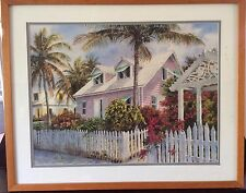 FABULOUS PHIL CAPEN SIGNED LIMITED EDITION ARTWORK PRINT, DOUBLE MATTED & FRAMED