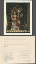 Unusual Vintage Polaroid Photo Egyptian King Tut Rug 259365