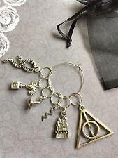 Conjunto de 6 puntada de crochet tejer Inspirado en Harry Potter Marcadores