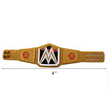 1:55 Mattel WWE World Heavyweight Championship Title Belt Elite Paint Sports