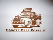 T-SHIRT - BOGOTA BEER COMPANY OF COLOMBIA - FORD F1 PICK-UP TRUCK - 100% COTTON