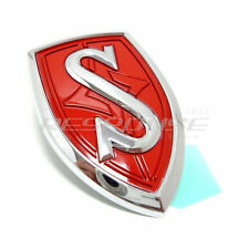 JDM Nissan Silvia S14 Front Hood Red S Emblem Badge For 1995-1998 240SX Genuine
