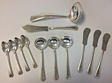 National Silver Co  12 Piece Adam Silver Plate Flatware