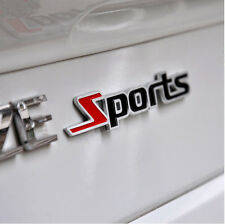 3D Metal Sports Emblem Badge logo Car / Bike Sticker Chrome : Free Shipping