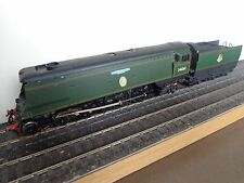 Wrenn based 00 gauge unrebuilt BB pacific loco, portescap motor, brass chassis.