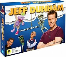 JEFF DUNHAM : COLLECTOR'S SET (5 disc Set)   -  DVD - UK Compatible sealed
