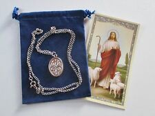 In Case of Emergency Please Call A Priest St. Medal with 24 Inch Necklace