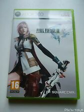 MICROSOFT XBOX 360 / Jeu FFXIII Final Fantasy 13 [ Version PAL FR ]