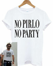 NO PIRLO NO PARTY MENS T SHIRT ANDREA JUVENTUS ITALY COOL CALCIO FOOTY FOOTBALL