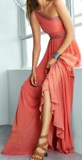 "BCBG NWT ""Daniele"" One Shoulder Party Dress Gown New 4 $498 IQI65D58"