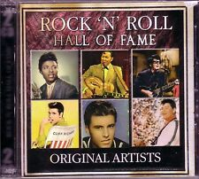 Rock Roll Hall Fame 2CD Classic 50s 60s CLIFF RICHARD BUDDY HOLLY BIG BOPPER