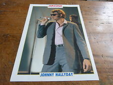 JOHNNY HALLYDAY - Mini poster couleurs N°10 !!!!!!!!!!!!