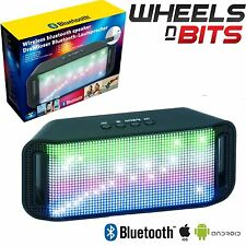 j-audio ALTOPARLANTE BLUETOOTH AUX SENZA FILI LED SMARTPHONE TABLET IPOD IPHONE