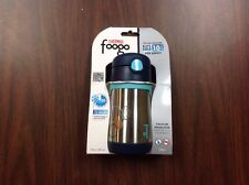 THERMOS FOOGO Vacuum Insulated Stainless Steel Straw Charcoal Steal
