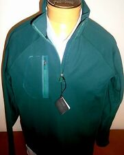 Bobby Jones X-H20 Crawford Golf Quarter Zip Pullover NWT Large $135 Forest Green