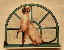Cat's Meow Village Purebred Cats: Seal Point Siamese