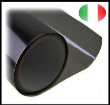 Pellicola Oscurante Fari Fanali Adesivo Fume Vinile Nero Scuro 30x120 Auto Moto