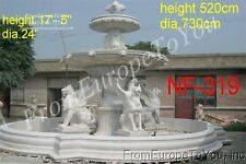 MONUMENTAL GRIFFIN HAND CARVED VICTORIAN STYLE FOUNTAIN -NF319