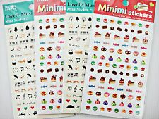 4 sets music Food Diary Reminder Planner Deco Organizer Scapbook Stickers