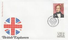 (43045) GB FDC Explorers Charles Sturt - Bureau 18 April 1973 NO INSERT