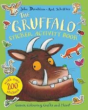 The Gruffalo Sticker Activity Book BRAND NEW  by Julia Donaldson Paperback, 2013