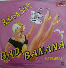 "7"" 1982 KULT RARE IN MINT- ! BAD BANANA : Banana Split"