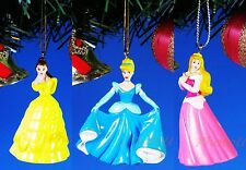 Decoration Ornament Disney Princess Belle Cinderella Aurora Toy Models *A428