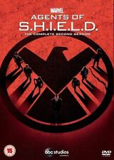 Marvel Agents of SHIELD: The Complete Second Season 2 (DVD 2015, 5-Disc Set) Two