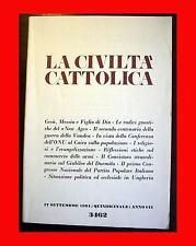 LA CIVILTA' CATTOLICA 3462 GESU' MESSIA E FIGLIO DI DIO RADICI GNOSTICHE NEW AGE