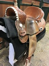 "Billy Cook 15"" barrel saddle, used"