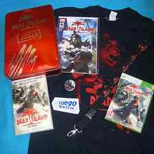 DEAD ISLAND RED EDITION Pal Xbox 360 Completo Limited Collectors Edition