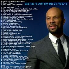 Blu-Ray Promo, Hi-Def Party Mix Vol.16 Mar. 2015, Top 40+ Dance & Club Hits ONLY