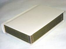 Professional 5x7 ivory gold edged Wedding Album -60 photos (Engraving Available)