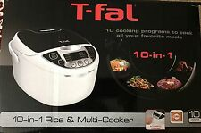T-Fal 10-in-1 Rice Cooker and Multi Cooker RK705851 NEW