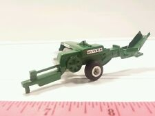 1/64 ertl custom agco white oliver small square baler farm toy free shipping!