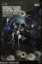 JAPAN Book Resident Evil Biohazard Darkside Chronicles Koushiki