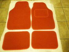 RED CAR MATS INTERIOR CARPET MATS FOR VOLVO C30 S40 S50 S60 V40 S70 V70