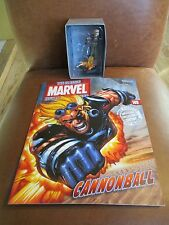 Eaglemoss Marvel Classic Figurine Collection Cannonball # 149 and Magazine