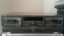 Technics Double Tape Deck RS-TR474 with Instructions