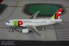JC Wing TAP Air Portugal Airbus A319 in New Color Diecast Model 1:200
