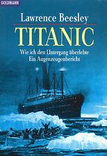 TITANIC - Wie ich den Untergang überlebte - Lawrence Beesley - BUCH
