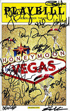 "Tony Danza (Signed) ""HONEYMOON IN VEGAS"" Rob McClure / Jason Robert Brown 2014"