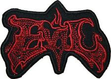 Buffy The Vampire Slayer Evil Badge Embroidered Patch Sew/Iron-on 3.50""