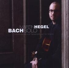 MARTIN HEGEL - BACH SOLO CD  NEU/OVP