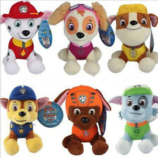 6Pcs Patrol Dog Puppy Paw Soft Stuffed Plush Doll Gifts Home Decor For Kid