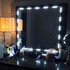 Mirror LED Light with remote For Cosmetic Makeup Vanity Lighted White KIT 5ft TN