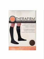 ツ BEST PRICE! THERAFIRM MEN'S MILD SUPPORT TROUSER SOCKS ( MEDIUM-BLACK )