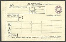 GB 6D PURPLE EDWARD VII TELEGRAM BOOKLET WY & S LTD HUGGINS TP19